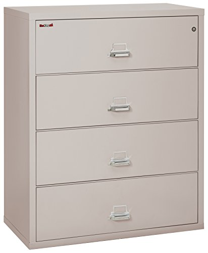 Fireking Fireproof Lateral File Cabinet (4 Drawers, Impac...