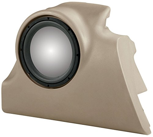 """UNLOADED MTX Thunderform Subwoofer Enclosure (TAN) for 2000-2007 Ford Focus ZX5 & ZX3 Holds 1-12"""" Sub"""
