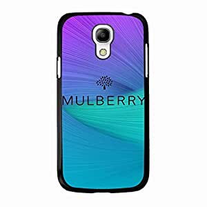 Colorful Rainbow Classical Logo Mulberry Phone Case Cover for Samsung Galaxy S4 Mini