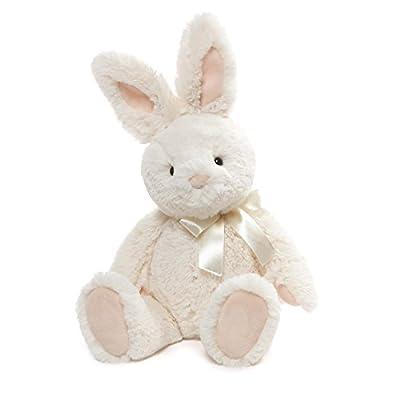 """Gund Velvet Bunny Rabbit Stuffed Animal Plush Toy, 13"""""""