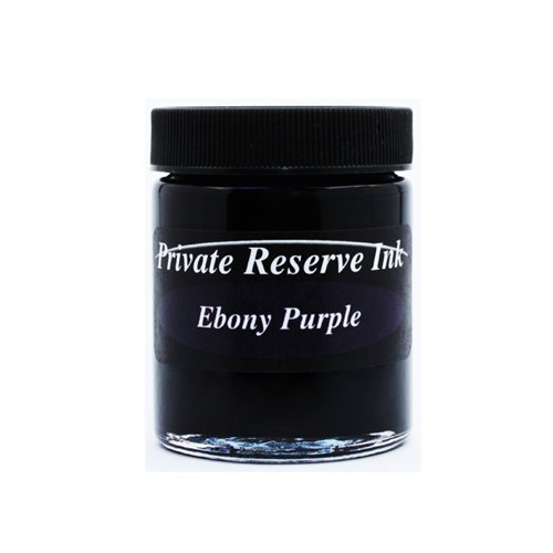 Private Reserve Ink Ebony Purple 50 ML Ink Bottle by Private Reserve