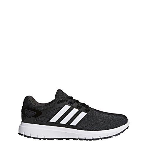 adidas Performance Men's Energy Cloud m Running Shoe, Utility Black/White/Black, 10.5 Medium US