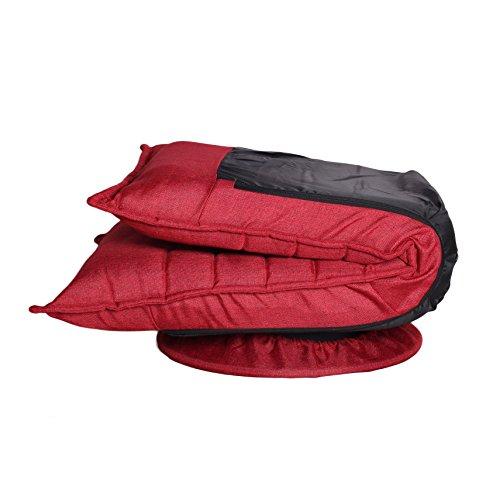 Floor Chair Swivel: Ollypulse 360 Degree Swivel Folding Floor Sofa Chair For