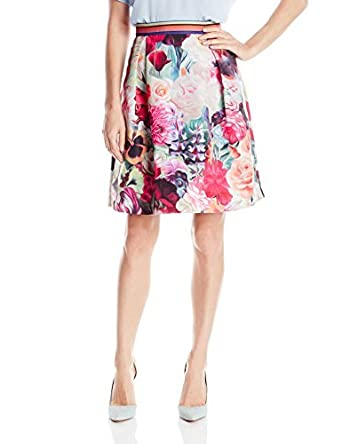 Ted Baker kaideen Floral Swirl Mini falda de la mujer - Púrpura ...