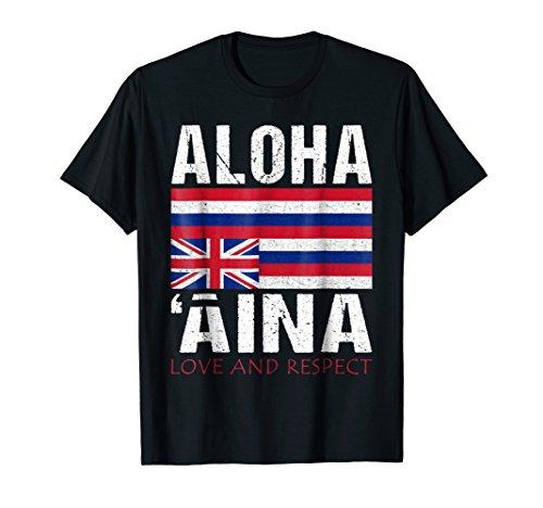 Hawaii Aloha 'aina Sovereignty & Independence T Shirt
