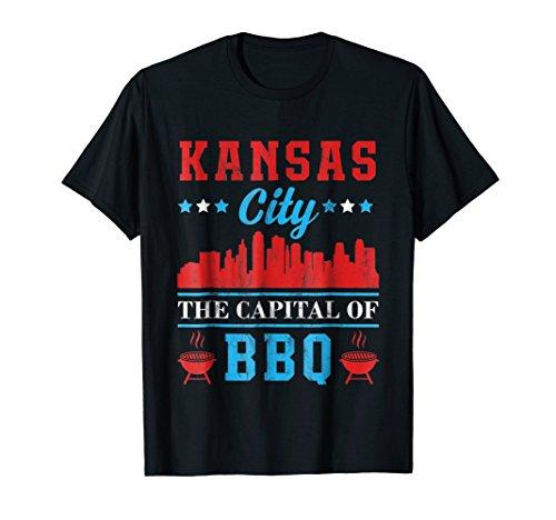 - Kansas City The Capital of BBQ TShirt