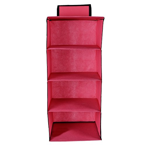 JMD Creation Hanging 4 self Closet Organizer 28 * 28 * 80…