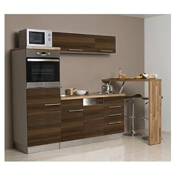 Mebasa MCCK160BNDT Küche, Moderne Küchenzeile, hochwertige ...