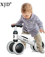 XJD Baby Balance Bike Baby Walker Toys Push Bike Baby Ride On Bike for 1 Year Old Boys Girls 10-24 Months Baby's First Bike Birthday Gift