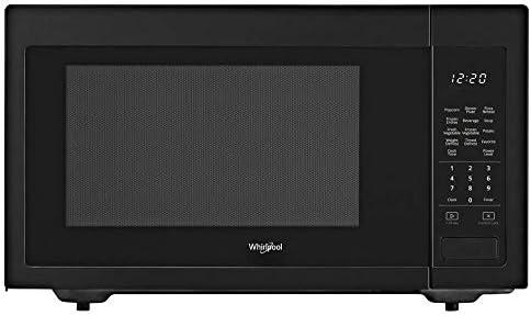 Amazon.com: Whirlpool 1.6 Cu Ft. En color negro de ...