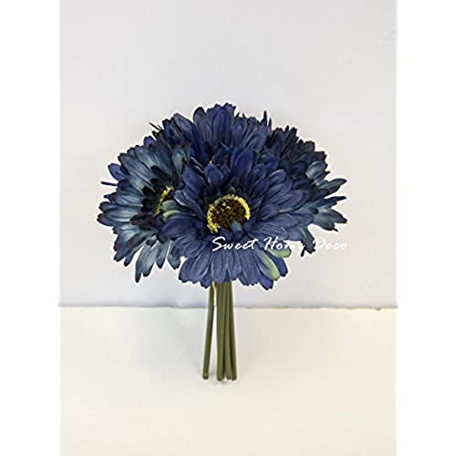 Navy Blue Flowers for Wedding: Amazon.com