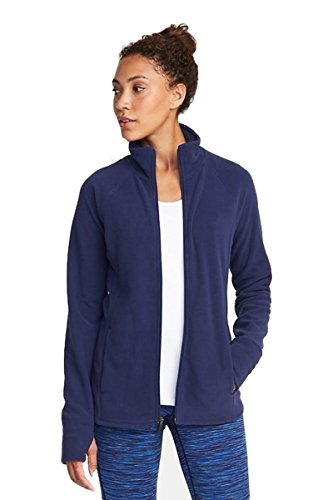 Old Navy End Of Winter Sale Micro Fleece Full-Zip Jacket For Women (Large, Navy)