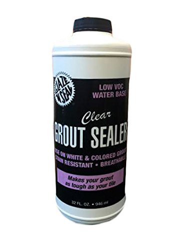 Glaze 'N Seal 412 Clear Grout Sealer Quart, 32 oz. Plastic Bottle (Pack of 1) (Glaze Stone)
