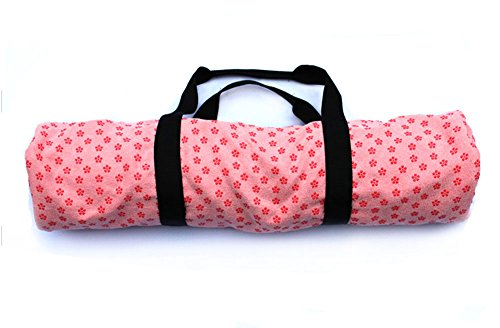 Sporealth Yoga Mat Bag Patterned Canvas with Zipper Waterproof Carrying All Size Yoga Mat