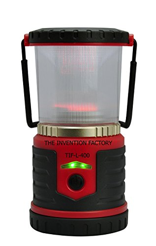 Rechargeable Long Lasting LED Lantern Very Bright 400 Lumens, 360 Degree Coverage, Power Bank, Phone Charger, Home, Hurricane, Camping, Safety, Convenience, Free Dynamo Hand Crank Charger 10 Value