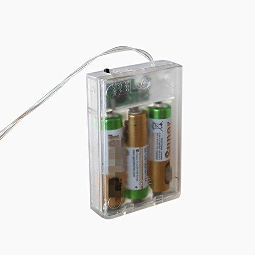 MeButiko Lights LED Card Photo Clip Lamp Battery Box Wedding Home Decoration