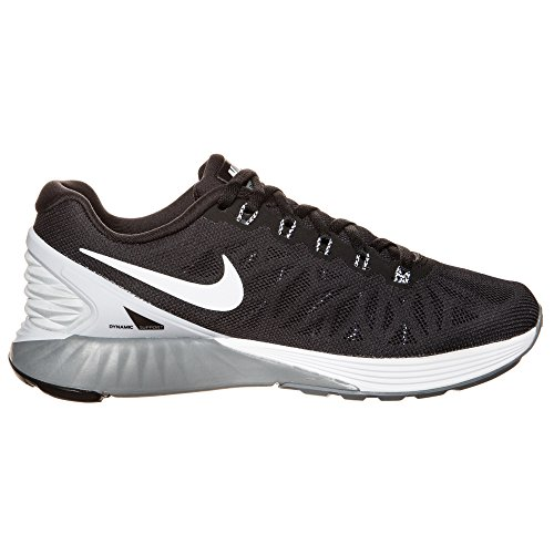 ... Nike Lunarglide 6, Running Entrainement Femme BLACK/WHITE-PURE PLATINUM-COOL  GREY