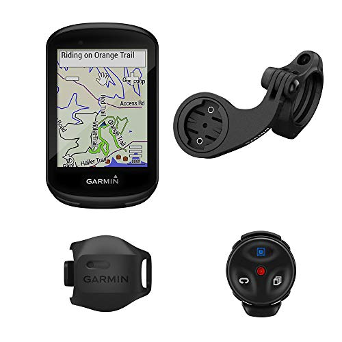 Garmin Edge 830 Mountain Bike Bundle, Performance Touchscreen GPS Cycling/Bike Computer with Mapping, Dynamic Performance Monitoring and Popularity Routing, Includes Speed Sensor & Mountain Bike Mount (Best Bike Computer For Mountain Biking)