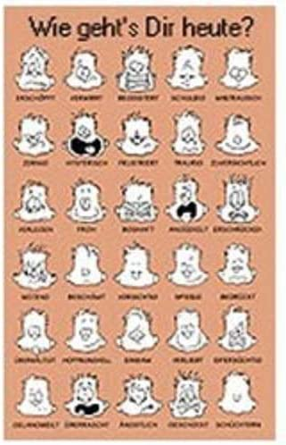 Jim Borgman Spanish Version Therapeutic Print Poster How are you feeling today