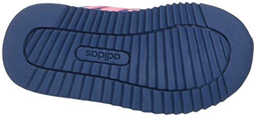 adidas V Jog CMF Inf, Zapatillas Unisex Niños Azul (Azubas/rossua/rosfue)