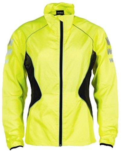 Wowow - Herren Dunkel Reflektierend Hohe Sichtbarkeit Langarm Jacke Signalbekleidung Neu - L