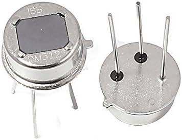2 piezas de DM312 Digital Inteligente piroeléctrico del detector del sensor de movimiento PIR