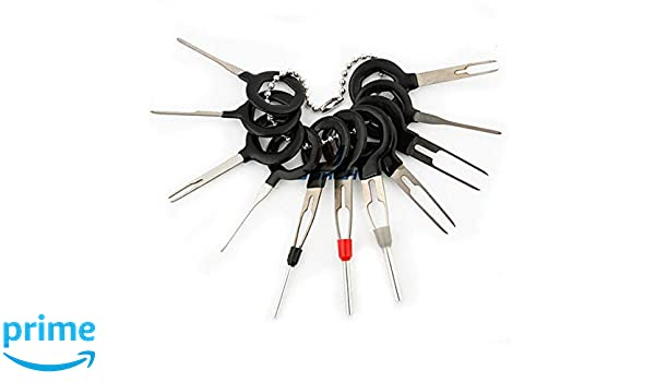 41x Wire Terminal Removal Tool Car Electrical Wiring Crimp Connector Pin Kit US