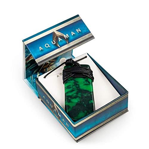 Aquaman Collectibles | Aquaman Movie Maori Toki Pendant | Replica 24 Inch Necklace ()