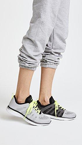 Apl: Atletisk Fremdriftssystemer Labs Kvinders Techloom Pro Sneakers Metallisk Sølv / Sort / Energi 0kOoa