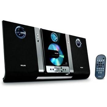 Amazon Com Philips Mc235b Micro Hi Fi Shelf System Black