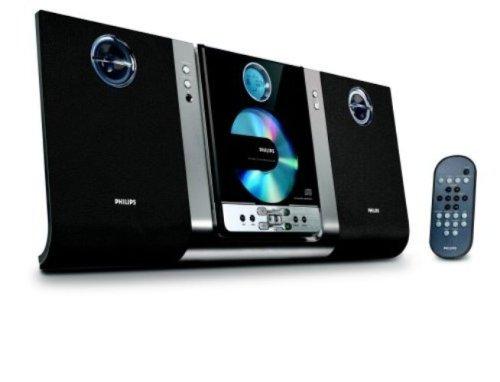 Philips MC235B Micro Hi-Fi Shelf System (Black) (Discontinued by Manufacturer)