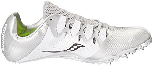 M Track 4 Silver Showdown US Shoe Women's White Saucony 6 wxpFq68t