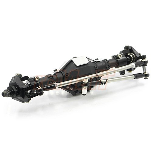 Xtra Speed Aluminum CNC & Alloy Complete Assembled Front Axle For Axial SCX10 / II #XS-SCX-1XE