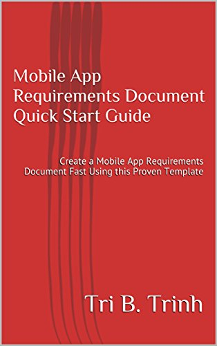Amazon Mobile App Requirements Document Quick Start Guide