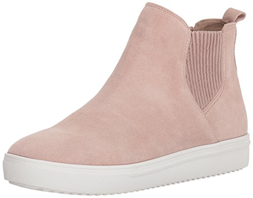 (Blondo Women's Gennie Waterproof Sneaker, light pink suede, 7 M US)