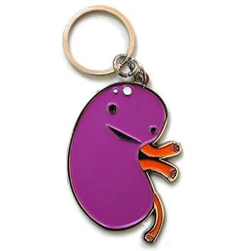 I Heart Guts Kidney Keychain - When Urine Love