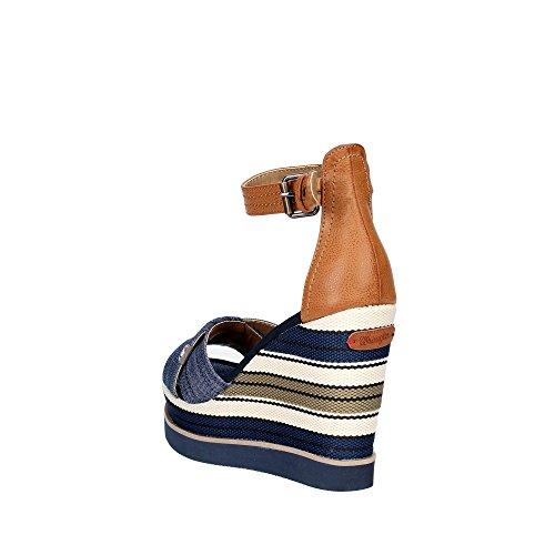 Wrangler WL171662 Zapatos De Cuña Mujer Azul