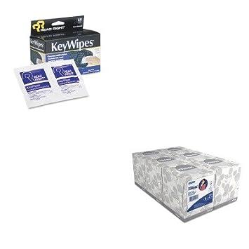 kitkim21271rearr1233 – Value Kit – leer derecho keywipes teclado Amp; amp; Mano Limpiador toallitas
