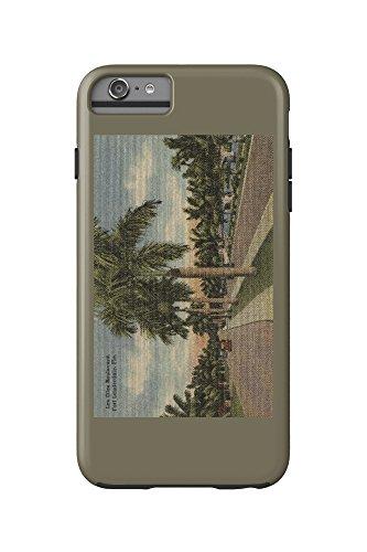 Ft. Lauderdale, Florida - Las Olas Blvd. (iPhone 6 Plus Cell Phone Case Cell Phone Case, - Olas Los Ft Lauderdale