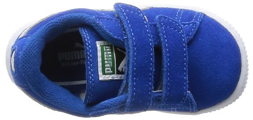 Puma Blue White Baskets Basses Mixte Bleu Suede Straps Inf 2 Snorkel Enfant XxZvnx