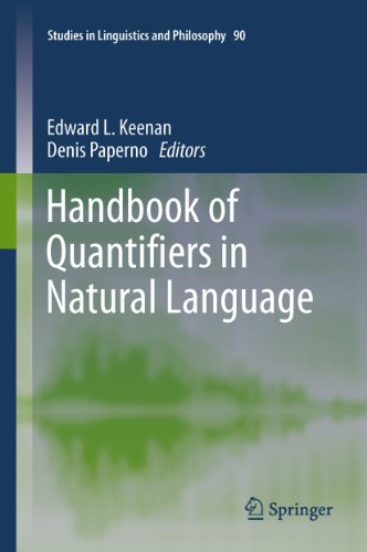 Download Handbook of Quantifiers in Natural Language: 90 (Studies in Linguistics and Philosophy) Pdf