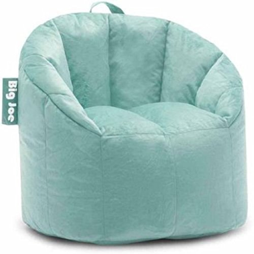 Big Joe Milano Bean Bag Chair Filled with UltimaX Beans Mint Plush