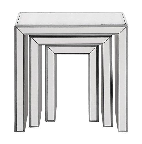 Decor Central ADMFX6-3039S 3 Piece Nested Tables, 23