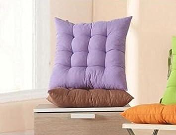 Amazonde Whyyudan Büro Sitzkissen Bunt Sofa Kissen Stuhl Square Pad