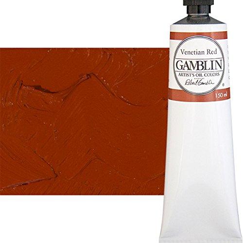 Gamblin Artist Oil, 150ml Tube, Venetian Red (2730)