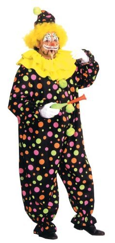 (Rubie's Men's Plus Size Clown Costume, Multicolor,)