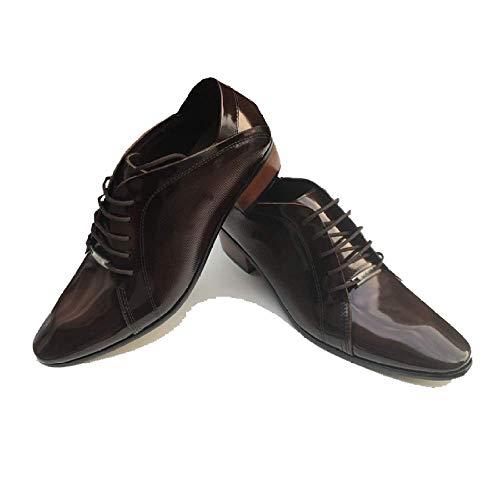 Traspirante Uomo Comfort da Brown Moda Scarpe in Scarpe Scarpe Scarpe da Ballo Stringate da Ballo Pelle R6CH5qwxq