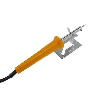 Cablematic - Soldador eléctrico de estaño de 30W 500°C modelo BEST 813