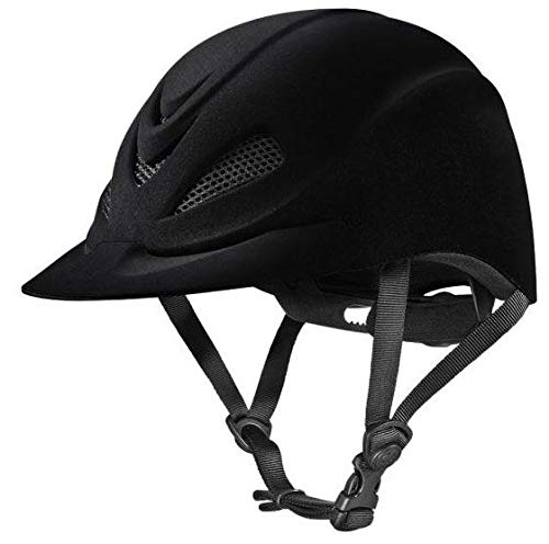 (Troxel Capriole Velvet Flock Helmet, Large)