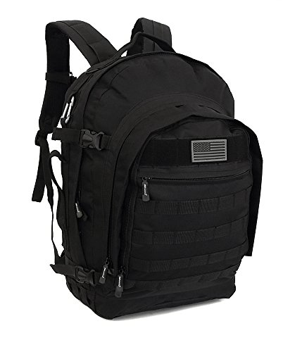 "NPUSA Mens Large 23"" Tactical Gear Molle Hydration Ready 15."